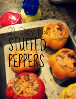 21 Day Fix Stuffed Peppers